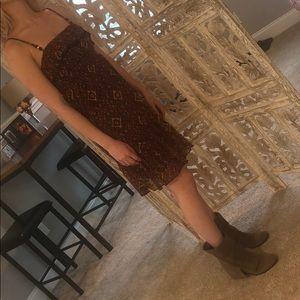 County western style dress
